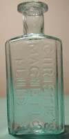 antique bottle magnetic medicne cure pontil new york christies