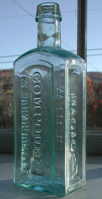 weeks magic compound st johnsbury vermont early medicine antique bottle