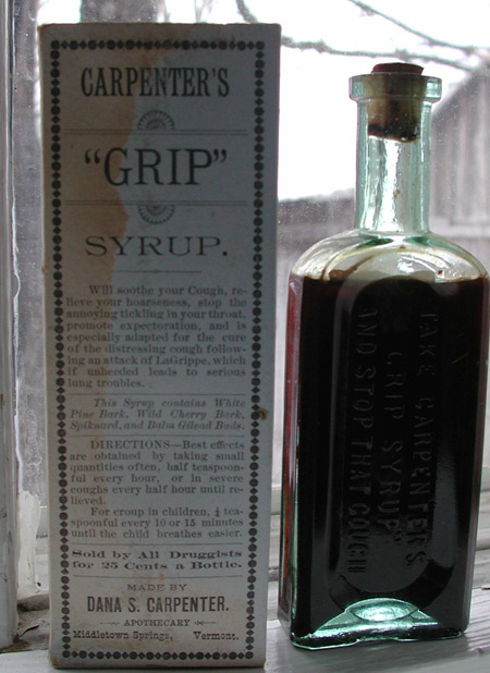 rare vermont patent medicine middletown springs