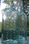Philadelphia pontiled medicine antique bottle