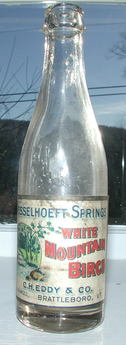 vermont mineral soda bottle antique