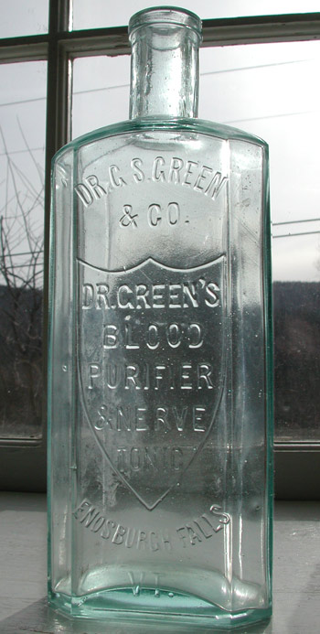 patent medicine bottle