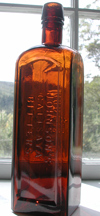 Vermont Burlington bitters antique medicine bottle