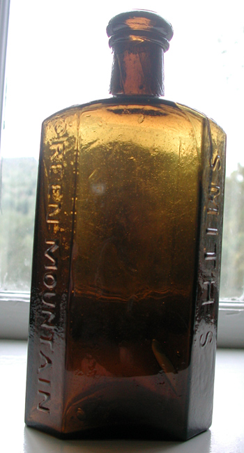 stoddard medicine bottle iron pointil vermont new england